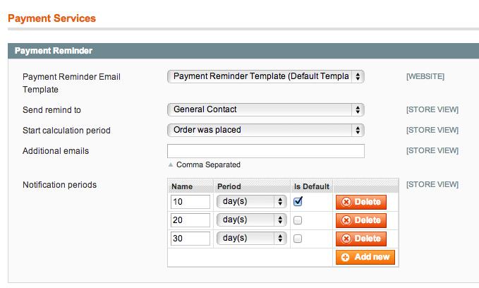 Automatische Zahlungserinnerung Für Magento